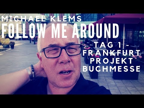 Tage eines Information Professionals - Follow Me Around Frankfurt - Projekt Buchmesse
