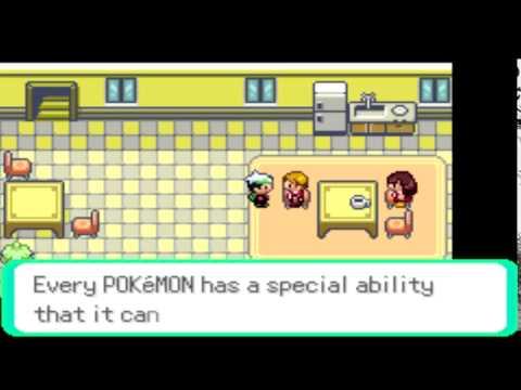Pokémon Emerald - Walkthrough [Part 6 - Rustboro City - Rustboro Gym]