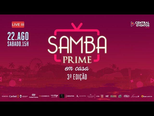 Live SAMBA PRIME em casa - 3ª edição ( Bandas de BH )