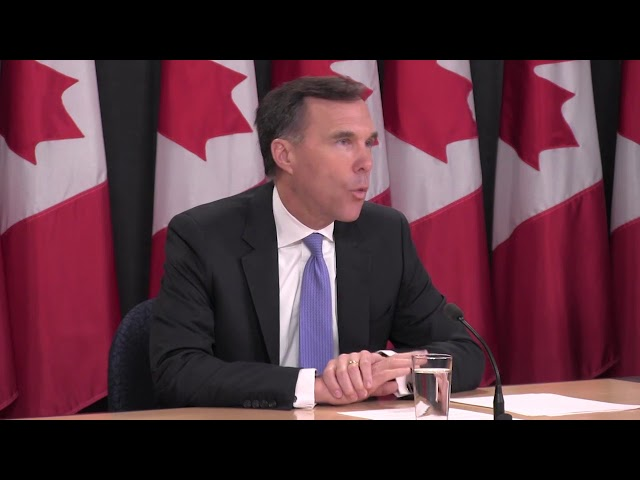 """The finance minister says the federal government is willing to support other investors interested in the Trans Mountain pipeline expansion if Kinder Morgan backs out. Bill Morneau says building the expansion is in the """"best interest"""" of Canadians. (The Canadian Press)"""