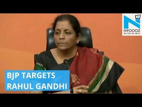 Defence Minister Asks Rahul to Explain his Links with Nirav Modi | PNB Scam Updates | NYOOOZ TV