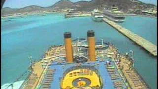 Costa Atlantica (Attracco a St. Maarten)
