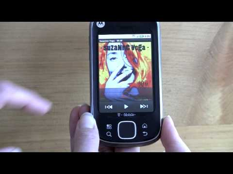 Motorola Cliq XT Video Review