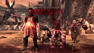Video MKX all fatality\brutality\x-ray Leather Face download MP3, 3GP, MP4, WEBM, AVI, FLV Februari 2018