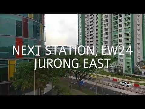 Episode 13: Singapore East West Line EW21 Buona Vista To EW25 Chinese Garden (for EW29 Joo Koon)