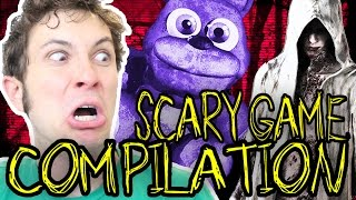 SCARY HORROR GAMES COMPILATION