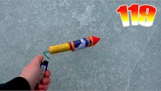 Сломал палку у ракеты?