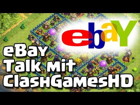 eBay Talk mit ClashGamesHD /// Let's Talk /// Clash of Clans /// German/Deutsch HD