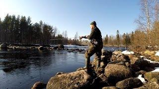 Весенняя рыбалка в Карелии. Там, где жили заключенные Сталина