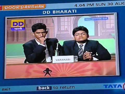 INTACH India Heritage Quiz National Semi-Final 2 on DD Bharati
