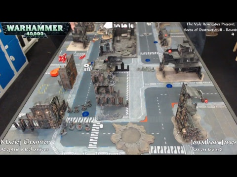 Warhammer 40,000 - Seeds of Destruction II - Day Two (Part One) - 24/09/17 - Firestorm Games Cardiff