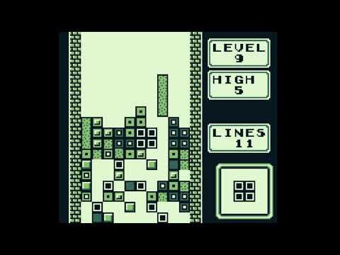 Tetris Gameboy Spaceship/Rocket Ending - Toughest Level