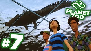 Underwater Crocodile Walkway Exhibit!!! - Planet Zoo | Ep7 HD