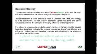 unipex trade dot com video
