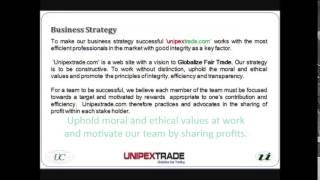 unipex trade dot com video