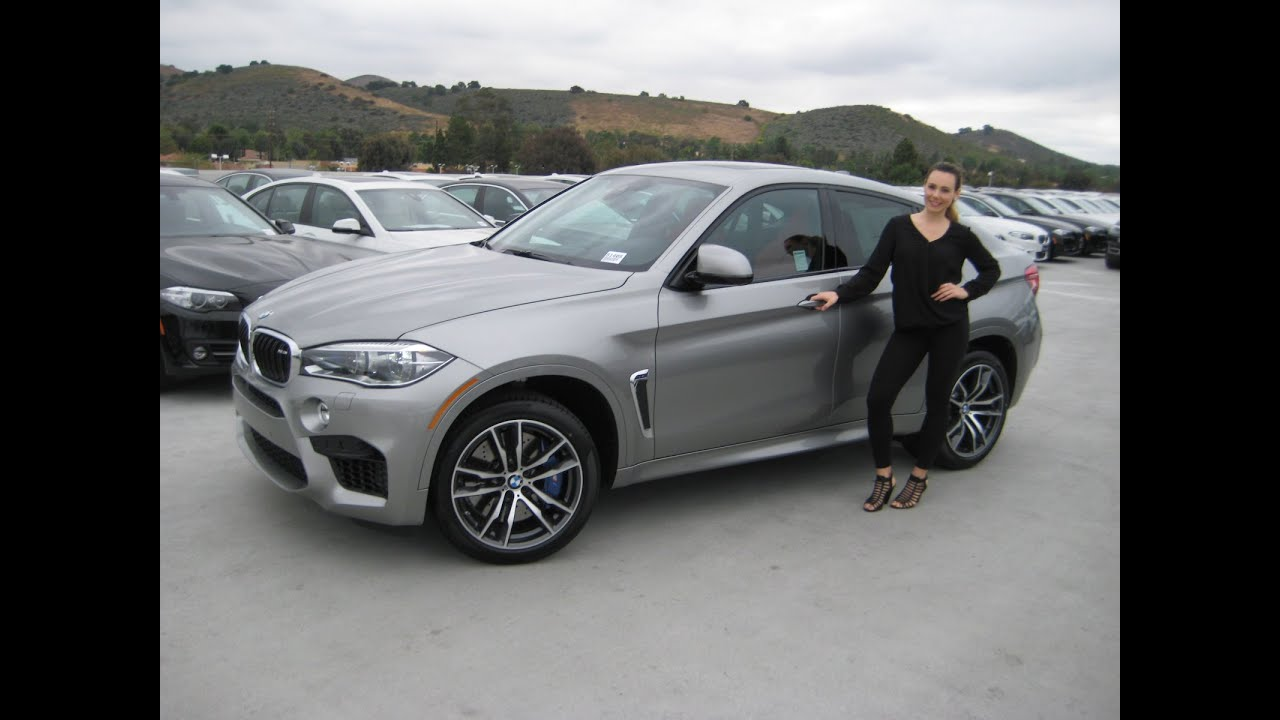 All New Bmw X6 M Donington Grey Mugello Red Leather Exhaust Sound Review X6m Youtube