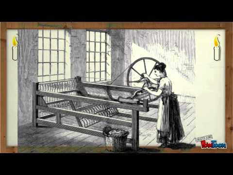 The invention of the Spinning Jenny and Telegraph
