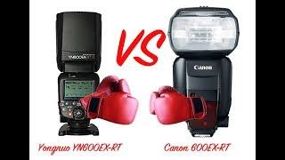 Canon 600EX-RT VS Yongnuo YN600EX-RT Speedlite Review