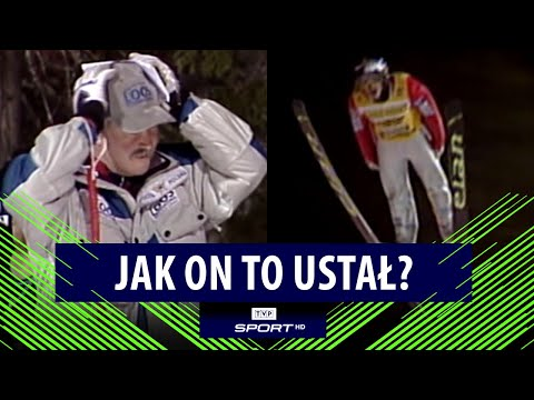 Niesamowity skok Adama Małysza w Trondheim. Trenerzy łapali się za głowę