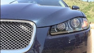 2013 Jaguar XF 3.0 AWD Mile High 0-60 MPH Performance Review