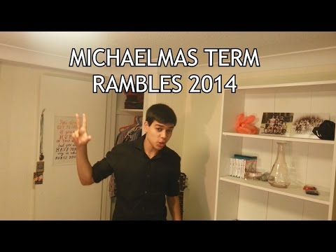 Michaelmas Term Rambles 2014