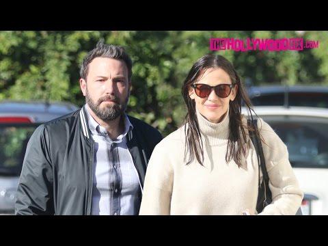 Ben Affleck & Jennifer Garner Keep Their Marriage Going Strong At Church With The Kids 12.4.16