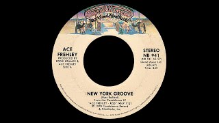 Ace Frehley ~ New York Groove 1978 Disco Purrfection Version