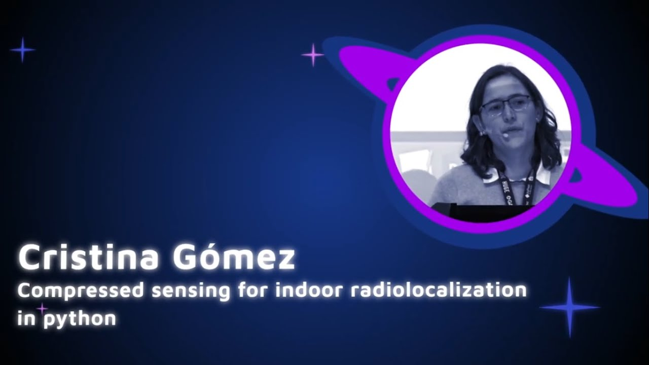 Image from Cristina Gomez - Compressed sensing for indoor radiolocalization in python - PyCon Colombia 2019