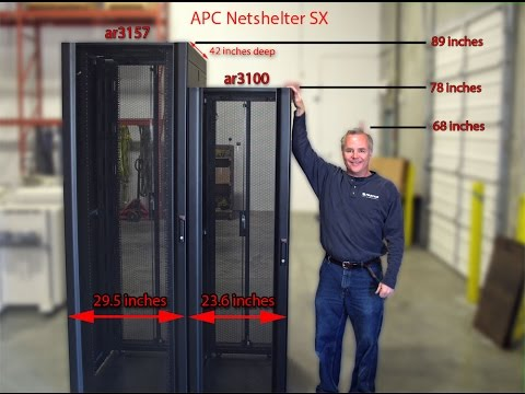 Dell APC Netshelter ar3100 42u Server Rack
