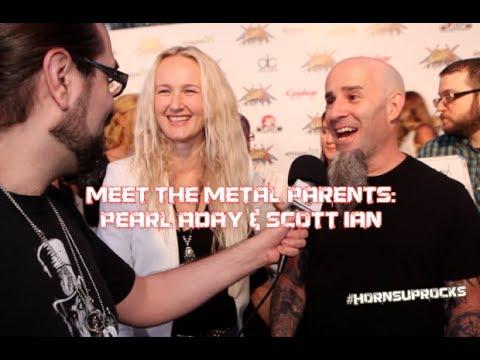 Meet the METAL Parents: Scott Ian & Pearl Aday Golden Gods