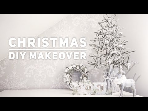 CHRISTMAS DIY DECORATIONS/CHRISTMAS TREE | MAKEOVER/RESTORE | CARLY JADE DRAKE