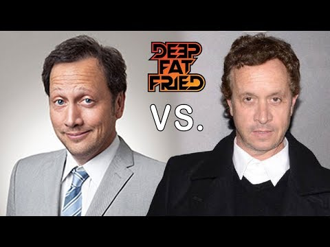 ROB SCHNEIDER vs. PAULY SHORE = DEEP FAT FRIED