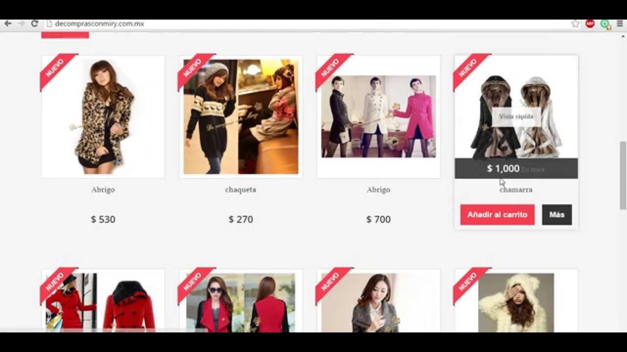 8a31735e9c Tienda online de moda asiatica en Mexico - YouTube