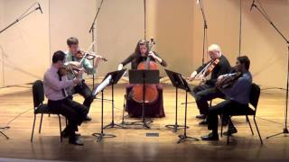W.A. Mozart - String Quintet in G Minor, K. 516 - II. Menuetto: Allegretto (Kontras Quartet)