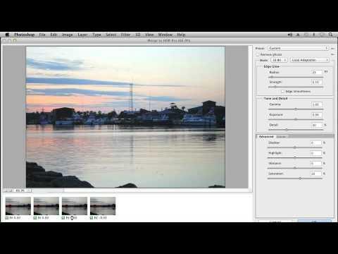 High dynamic range images in Photoshop - Adobe