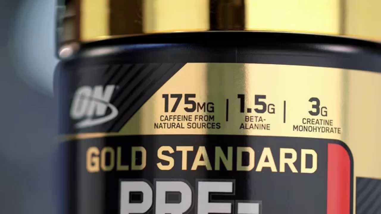 Preview: New Gold Standard Pre-workout from Optimum