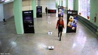 Тестовая видеозапись с IP камеры XVI серии 42xx 4Mp