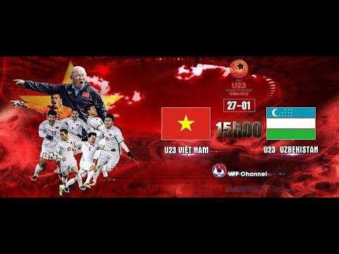 Xem Lại Chung Kết U23 Châu Á 2018 U23 Việt Nam Vs U23 Uzbekistan   Full Cả Trận