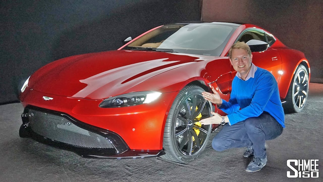 THIS is the NEW Aston Martin Vantage!   FIRST LOOK