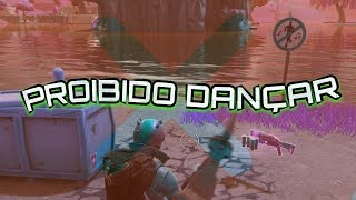 Fortnite-5 forbidden Places to Dance (BATTLE PASS CHALLENGE)