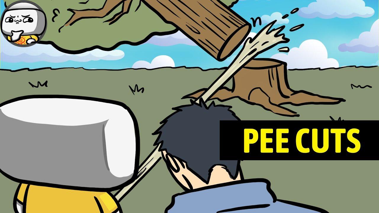 Download I Just Wanna Pee...But Cut Down A Tree Instead