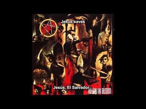 Slayer - Jesus Saves [
