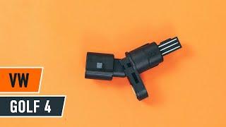Kaip ir kada reikia keisti Vairavimo dinamikos kontrolė VW GOLF IV (1J1): videopamokos