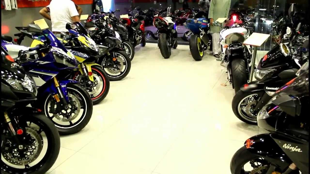 Ryders Super Bikes Rawalpindi Showroom Youtube