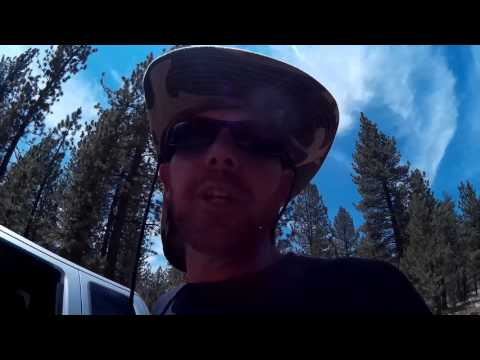 Exploring Famous Gold Fever Trail treasure hunting for relics and gold in San bernadino CA