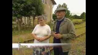 L'ancienne ligne de chemin de fer Saumur-Poitiers