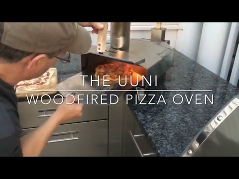 Wood Fired personal size portable pizza oven by Uuni