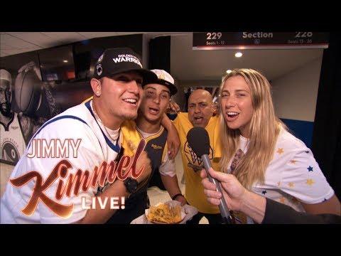 Thor - Jimmy Kimmel pulls amazing prank on Warriors fans!