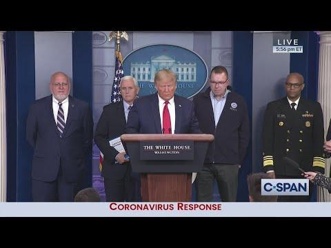 White House Coronavirus News Conference