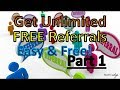 Earn Money Get FREE REFERRALS Must Watch Life time $$ Earning Online!!